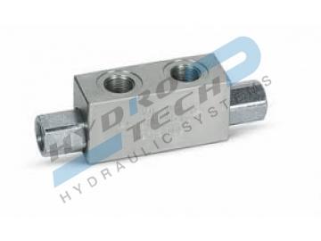 Двойни обратни клапани с хидравлично управление