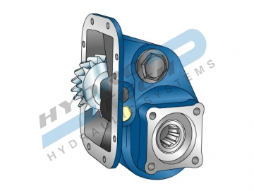 PTO 32650 ЗА SCANIA GR900, 400 Nm