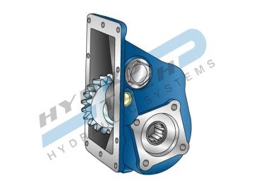 PTO 32638 ЗА SCANIA GR870-GR871, 400 Nm